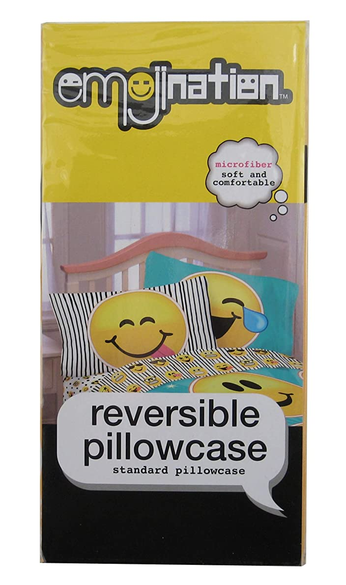 Emoji Reversible Forever Happy Pillowcase by Emojination