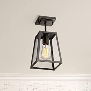 Arrington Modern Outdoor Ceiling Light Fixture Mystic Black 6