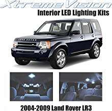 XtremeVision Interior LED for Land Rover LR3 2004-2009 (18 Pieces) Cool White Interior LED Kit + Installation Tool