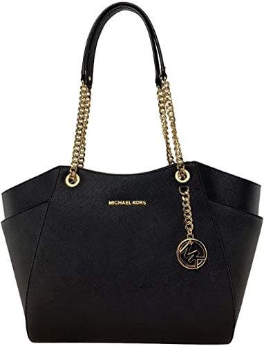 Michael Kors Women's Jet Set Travel Large Chain Shoulder Bag