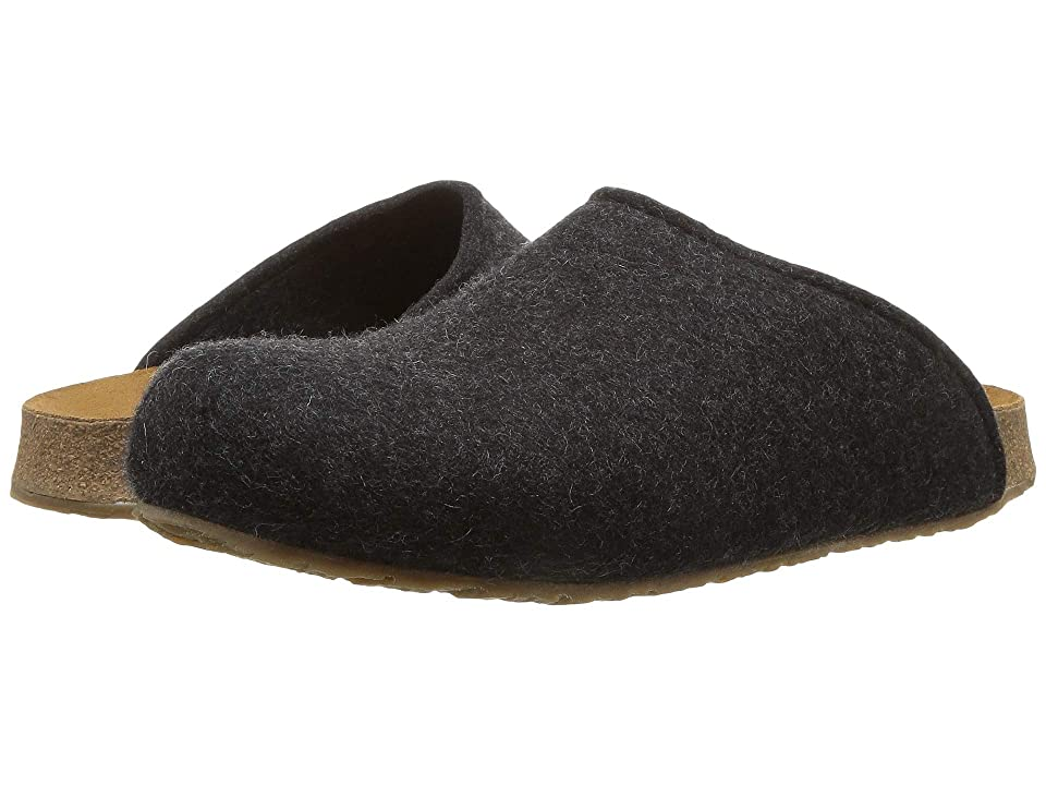 Haflinger Bio Gio Felt (Charcoal) Clog Shoes