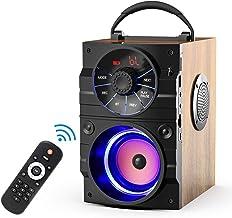 بلندگوی بلوتوث قابل حمل EIFER Subwoofer Heavy Bass Wireless Outdoor Party Party بلندگوی MP3 پلیر خط در بلندگوها پشتیبانی از راه دور کنترل رادیو FM کارت TF صفحه نمایش LCD برای مهمانی های خانگی تلفن رایانه رایانه