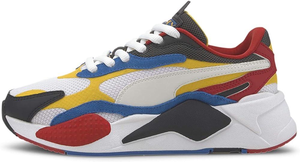 Puma sneakers per ragazzi rs-x puzzle 372357