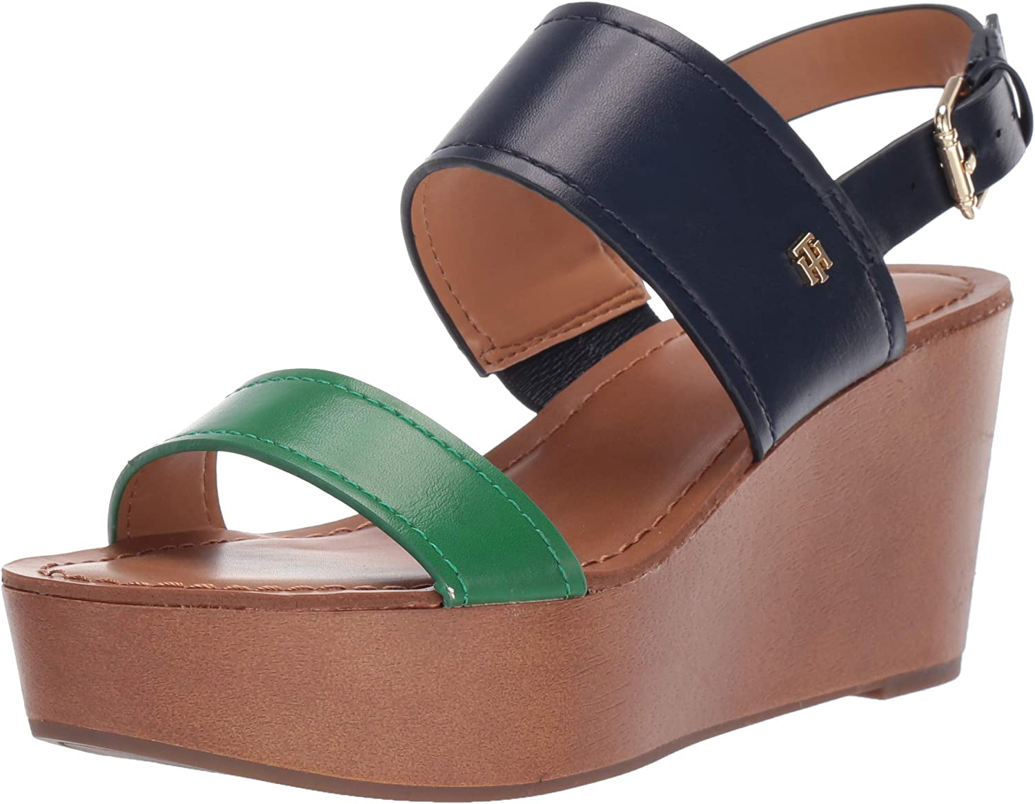 Tommy Challenge the lowest New arrival price of Japan ☆ Hilfiger Women's Sandal Wedge Wilder