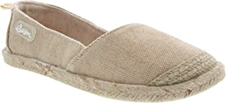 Sugar Womens Evermore Casual Linen Slip on Sneaker