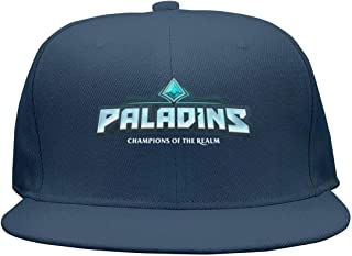 Paladins- Flat Bill Adjustable Hat Snap Snapback Cap Men & Women Hip-Hop
