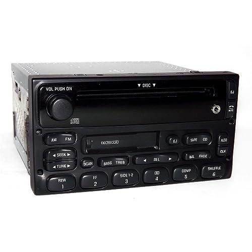 Amazon.com: Ford Truck and Van Radio 1999-2010 AM FM CD CS w iPod Sat Aux In XL2F-18C868-AB: Car Electronics