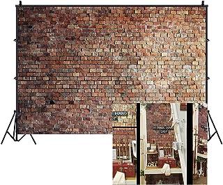 LFEEY Fotohintergrund für Neugeborene, Babys, Mädchen, Erwachsene, 3,6 x 3 m, Rot