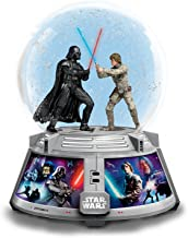 Bradford Exchange Star Wars Forces of Light and Dark Light Up Glitter Globe Plays The Theme Song