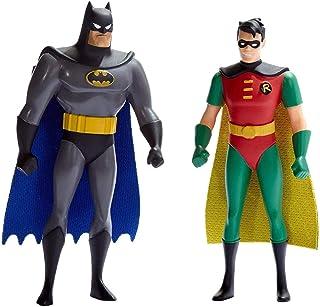 NJ Croce Batman & Robin Animated Series 5In. Bendable Figure Pair (Blister Card)