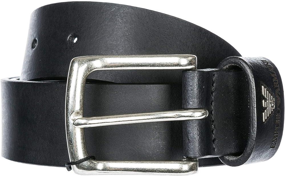 Emporio armani cintura uomo in pelle Y4S198 YDD4G