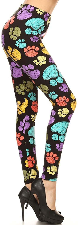 Leggings Depot Women's Popular Buttery Soft Classic Fashion Print Leggings BAT4