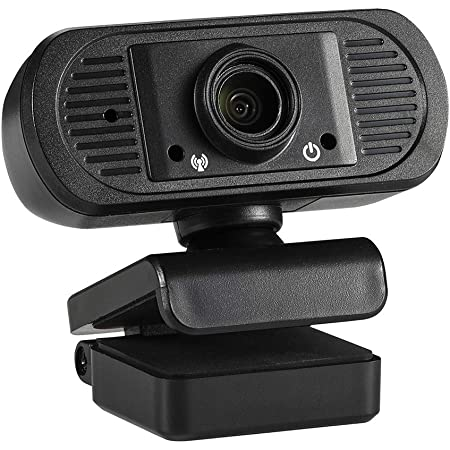 1080P Webcam with Microphone, HD Autofocus USB Camera Streaming Webcam Plug and Play Noise Reduction 25fps for PC Video Conferencing, Calling, Laptop, Desktop Mac(U246)