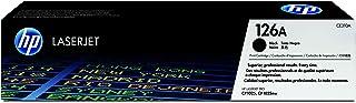HP 126A CE310A, Negro, Cartucho Tóner Original, de 1.200 páginas, para impresoras HP LaserJet Pro serie CP1020, CP1025, To...