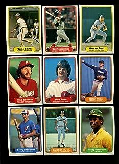 1982 fleer baseball set
