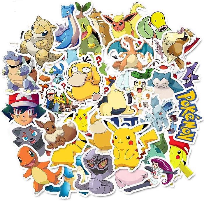 Top 10 Laptop Sticker Pikachu