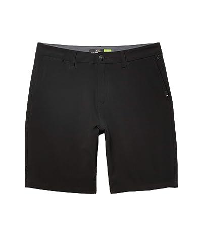 Quiksilver Union Amphibian 20 Shorts (Black) Men