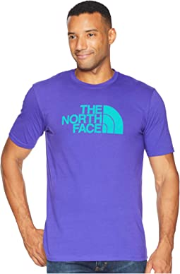 77a69e84bbf9 Deep Blue Porcelain Green. 40. The North Face. Short Sleeve 1 2 Dome Tee