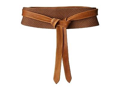 ADA Collection Obi Classic Wrap Belt (Tan Woven) Women