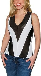 Ralph Lauren Black Label Womens Business Sleeveless Blouse Brown Medium $355