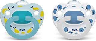NUK Orthodontic Pacifiers, Boy, 18-36 Months, 2-Pack
