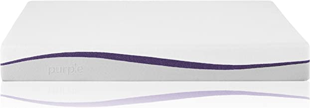 Purple Full Mattress | Hyper-Elastic Polymer Bed Supports Your Back Like A Firm Mattress and Cradles Your Hips and Shoulders Like A Soft Mattress - Cooler and More Supportive Than Memory Foam