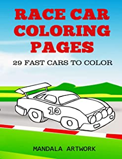 Race Car Coloring Pages: 29 Fast Cars To Color