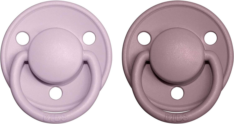 Blush NIGHT//Vanilla NIGHT BIBS Chupettes DE LUX en silicona 0-36 meses