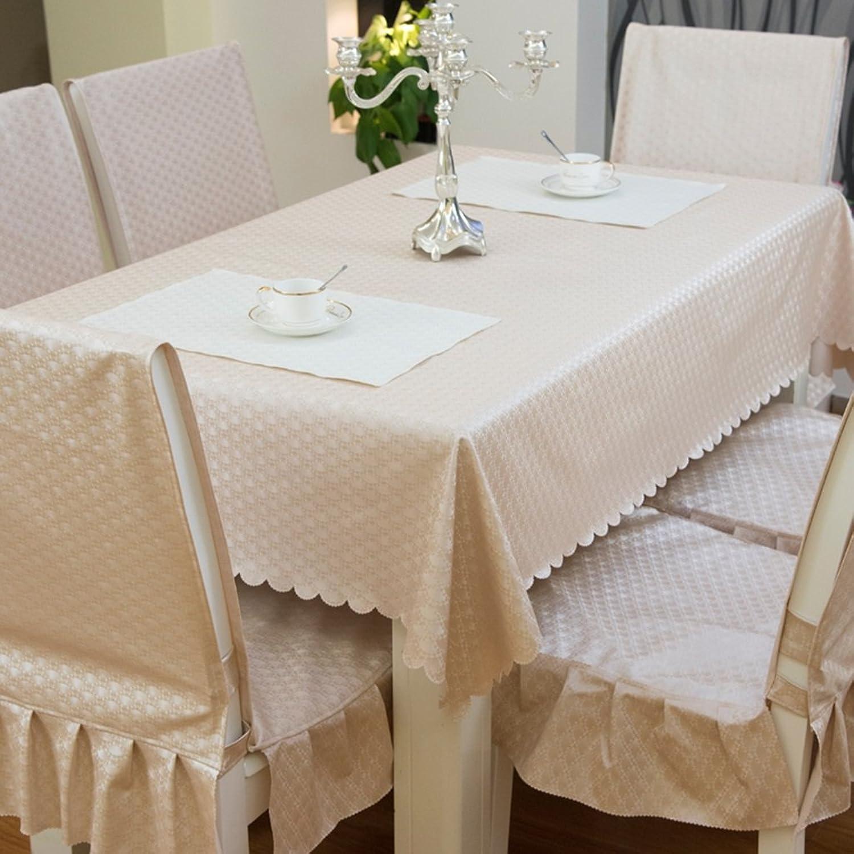 Küche Tischdecke Rectangle Tischdecke Wasserdicht Wash Away Spillproof Stoff Tischdecke Stoff Solid Farbe Couchtisch Tuch (Farbe    -8, größe   90  150CM) B073P5PQ4H Genialität  | Neue Produkte im Jahr 2019