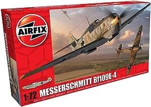 Airfix A01008A Model Plane Plastic Messerschmitt Bf109E-4 1:72 Scale
