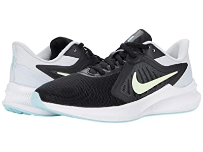 Nike Downshifter 10 (Black/Barely Volt/Pure Platinum) Women