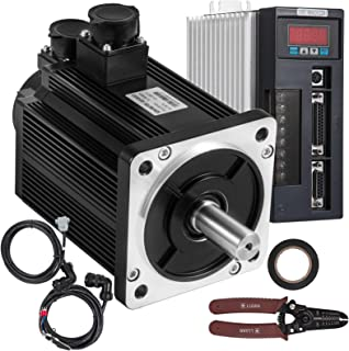 Mophorn 7.7Nm Servo Motor and Driver Controller Kit 130ST-M07725 AC Motor 2KW 2500R/Min