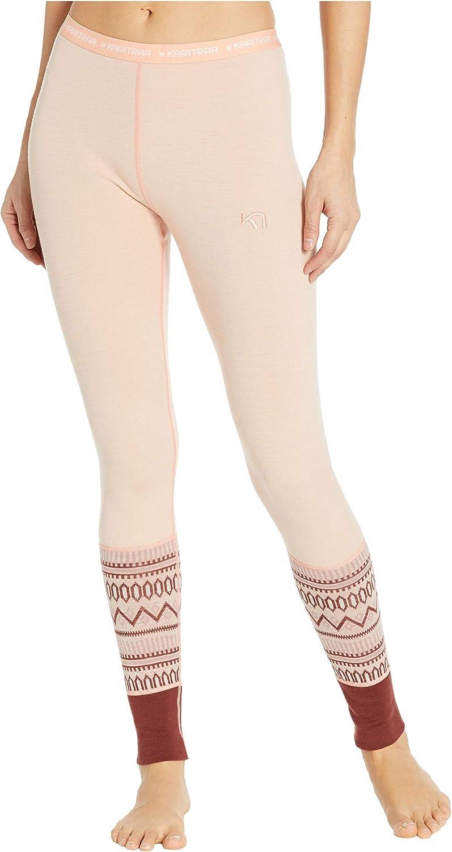 Kari Traa Women's Lokke Base Layer Bottoms - Wool Thermal Pants