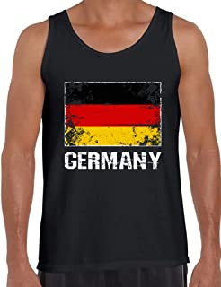Men's Germany Tank Tops Germany Flag Tanks German Gifts for Him