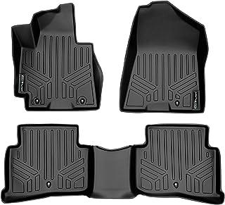 SMARTLINER Custom Fit Floor Mats 2 Row Liner Set Black for 2016-2018 Hyundai Tucson
