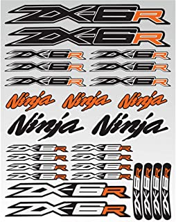 Suchergebnis Auf Für Kawasaki Zx6r Aufkleber Auto Motorrad