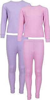 Delia's Girls Thermal Underwear 2-Pack Top Pant Set
