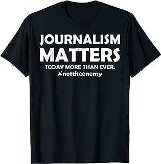 journalism matters t shirt