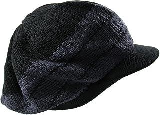 NY Knit Cotton Beanie Visor