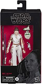 Star Wars The Black Series - Rey and D-O - Figuras a escala