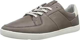 Fresh Box Boxfresh Cladd Grey White Mens Leather Trainers Shoes