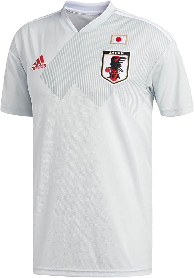 adidas Men's Japan 2018 Away Jersey - Clear Grey/White