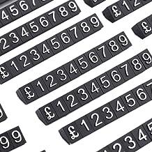 DO4U 1kit de cubes pour affichage de prix en magasin (340Cubes) - PCUBK Noir
