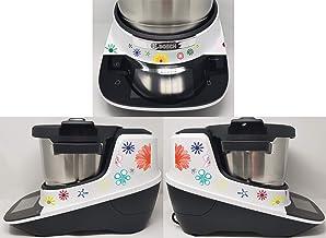 Stickers geschikt voor Bosch Cookit bloemen bont