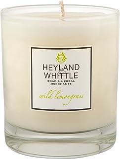 Heyland & Whittle Wild Lemongrass Candle (Pack of 6) - Heyland&削る野生レモングラスキャンドル (Heyland & Whittle) (x6) [並行輸入品]