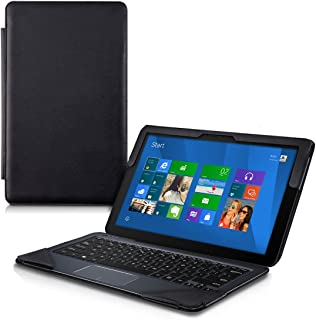 kwmobile Elegant Synthetic Leather case for Asus Transformer Book T300 Chi in Black