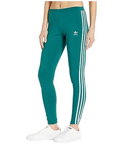 adidas Originals 3 Stripes Tights (Noble Green) Women