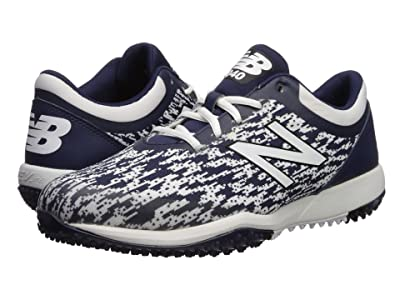 New Balance 4040v5 Turf (Navy/White) Men