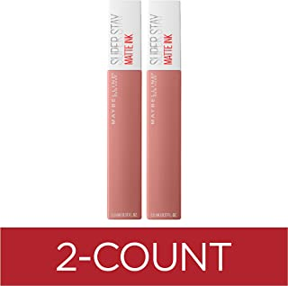 Maybelline New York Superstay Matte Ink Un-nude Liquid Lipstick, Poet, 0.34 Fluid Ounce (Pack of 2)