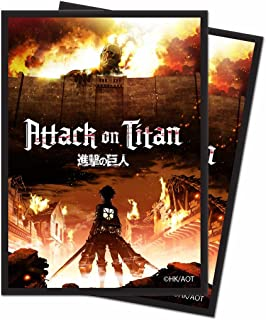 Ultra Pro Official Attack on Titan The Beginning Deck Protector Sleeves (65ct)